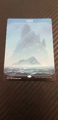 1x Foil Island, Unstable (MTG, Magic the Gathering) Unplayed