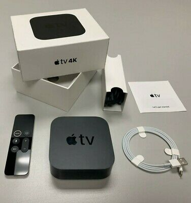 Apple TV 4K 64GB 5th Generation Black | Genuine OEM  | A1842 MP7P2LL/A | GA 🔥🔥