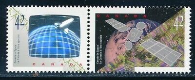 Canada - Space Hologram MNH Stamps Pair #1441-2 (1992)