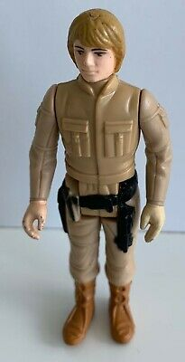 Vintage Star Wars 1980 Luke Skywalker Bespin Outfit Brown Hair Kenner