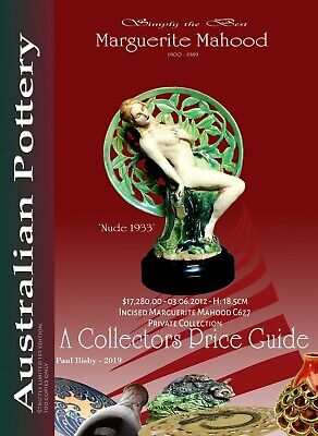 Marguerite Mahood - New Australian Pottery Collectors 2019 Price Guide.