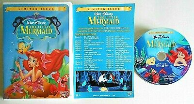THE LITTLE MERMAID // Limited Issue [w/ insert] (DVD, 1989)