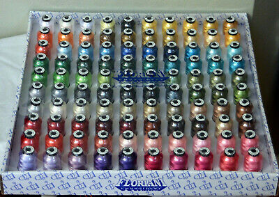Floriani Top 100 Embroidery Machine Polyester 1000 meter 1100 yard Thread Cones