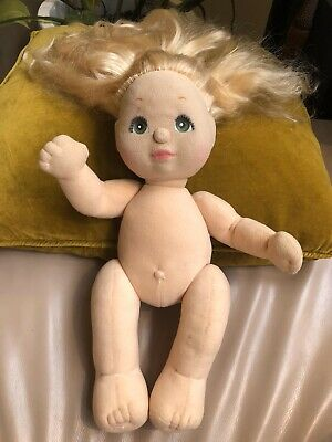 My Child Doll - Mattel - Long Blonde Hair With Green Eyes