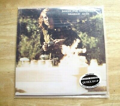 Classic Records Graham Nash Songs For Beginners SD7204 200G Sealed LP Audiophile