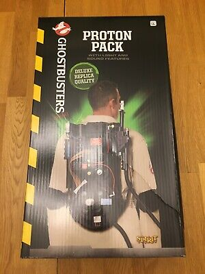 GHOSTBUSTERS Deluxe Replica PROTON PACK Spirit Halloween Brand New Unopened