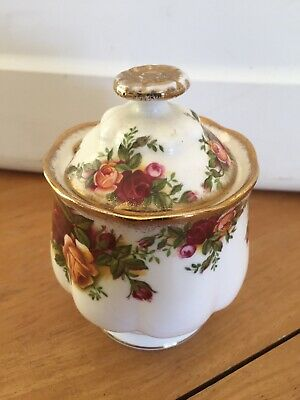 Royal Albert  Old Country Roses Jelly Pot