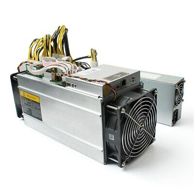 Antminer S9 13.5 TH/s Bitcoin Miner /w AntMiner APW3++ PSU On Hand Ships Now