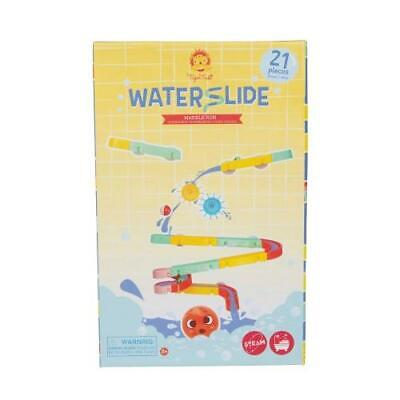 NEW Tiger Tribe Waterslide - Marble Run - Bath Toys - 21pc Set