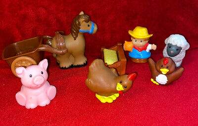 Fisher Price Little People Farm Lot
