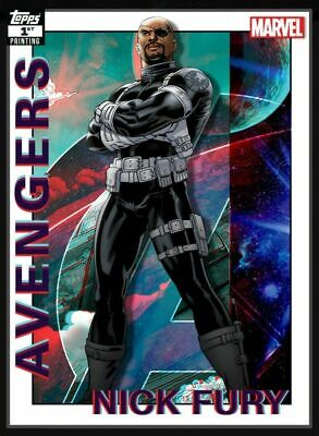 Topps Marvel Collect Card Trader Nick Fury  AVENGERS 1st Printing  DIGITAL CARD