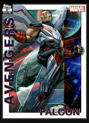 Topps Marvel Collect Card Trader Falcon  AVENGERS 1st Printing  DIGITAL CARD