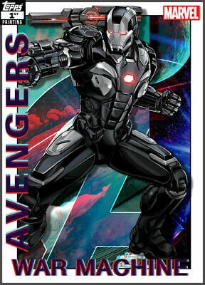 Topps Marvel Collect Card Trader War Machine AVENGERS 1st Printing  DIGITAL CARD