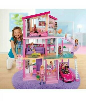 NEW Barbie DreamHouse Playset with 70+ Accessory Pieces Girl Toy Gift