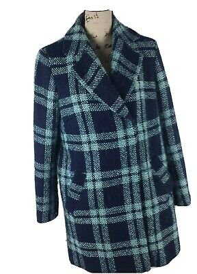 M/&S COLLECTION  Double Breasted Italian Fabric with Wool /& Cashmere Coat