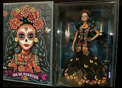 💥IN HAND!! NEW! Barbie Dia De Los Muertos Doll 2019 Day of The Dead💥