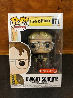 Funko Pop! The Office Blonde Dwight Schrute #871 Target Exclusive