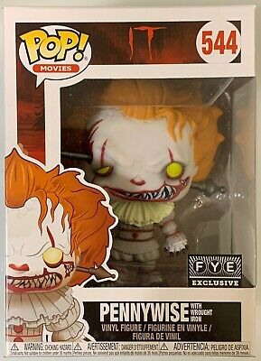 Funko Pop Movies It Pennywise W/ Wrought Iron #544 Fye Exclusive