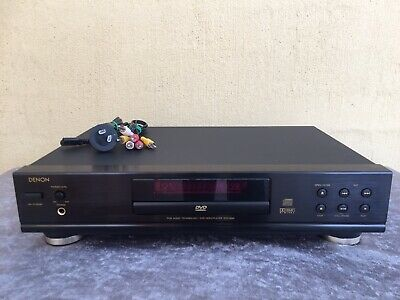 Serviced Denon DVD-3000 DVD CD Player Works Great No Remote Japan We Post