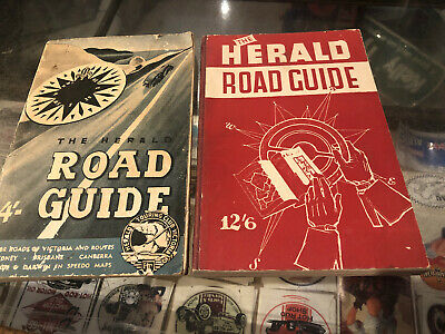 The Herald Road Guides X 2 Vintage