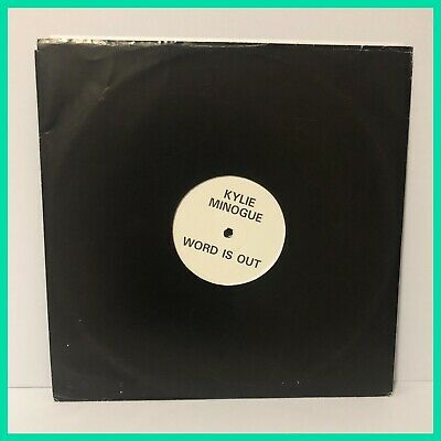 Kylie Minogue Word Is Out PROMO 12'' Vinyl