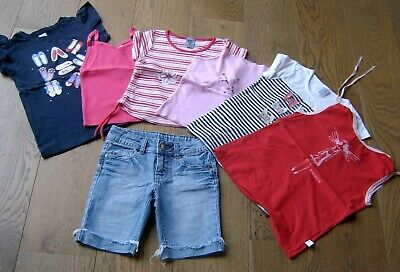 Girls Size 7 Summer Bulk Lot Various Items Target / Patch / Country Road