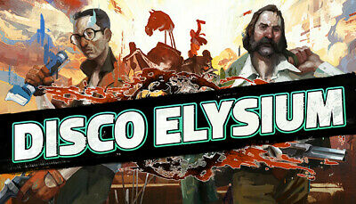 Disco Elysium - US/EU/UK/Region Free - [New Steam Account] FULL ACCESS PC