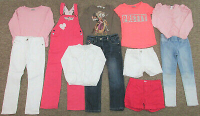 Girls Clothes Bundle. Age 7 Years. Next Gap H&M. T-Shirts Jeans Long Sleeve Tops
