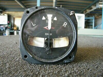 Gauge Aircraft Turn and Bank Indicator