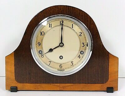 A Garrard Art Deco Westminster,Winchester,Whittington Chiming Mantle Clock