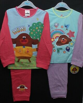 HEY DUGGEE Pyjamas/ Girls Official PJs in a choice of 2 styles 18 Months-5 Years