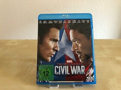The First Avenger - Civil War, Captain America 3, Blu-ray