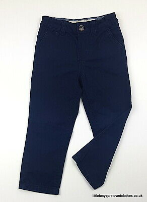 2-3 year Denim&co boys dark blue trousers