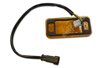 Iveco Daily Side Marker Amber Light Lamp Lens With Wire And Bulb Holder 2006 On
