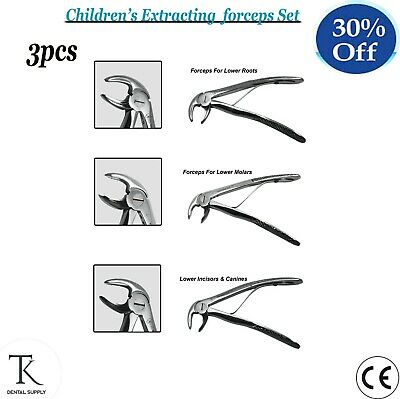 Dental Root Tooth Child Extracting Forceps Lower Molars