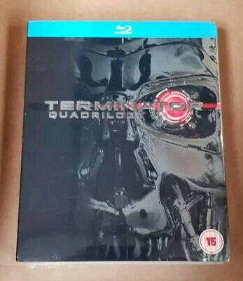 Terminator - Quadrilogy 4 Disc Box Set (Blu-Ray) SchwarzeneggerNew and sealed