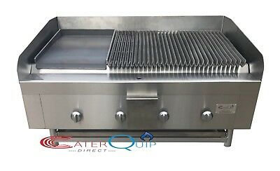 4 Burner Gas Charcoal Peri Peri Char Grill Bbq Heavy Duty For Commercial Use