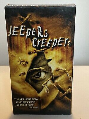 Jeepers Creepers VHS Horror Gina Philips Justin Long MGM   Halloween