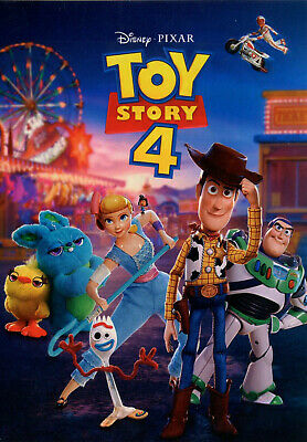 Toy Story 4 (DVD 2019) Factory Sealed - Ships 10/1 Free First Class Mail!
