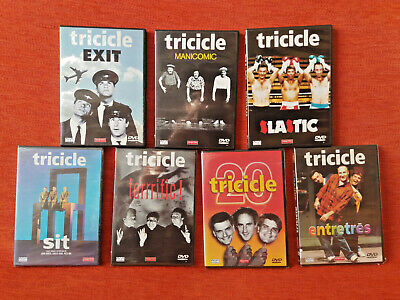 TRICICLE LOTE 7x DVD humor catalán cataluña