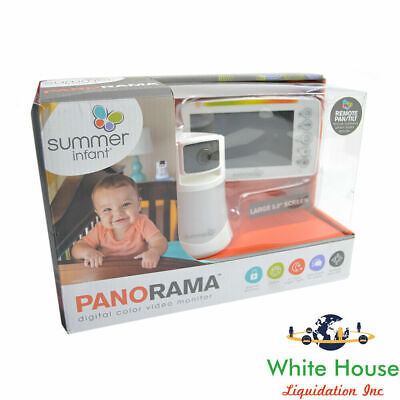 "Summer Infant Panorama Video Baby Monitor 5"" Screen and Remote Steering Camera"