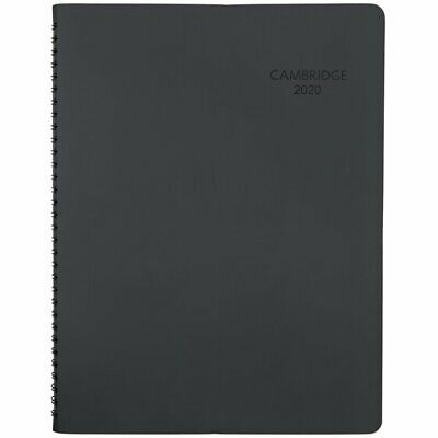 Cambridge Cambridge  Business Weekly Monthly Appointment Book, Large, Black -
