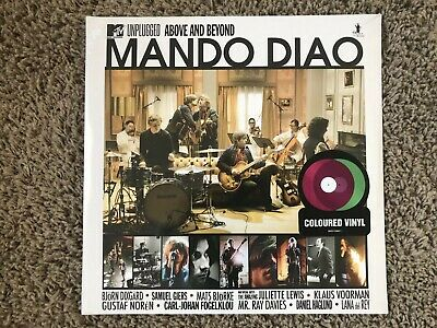 MANDO DIAO MTV Unplugged: Above And Beyond 2 x Coloured Violet and Green Vinyl