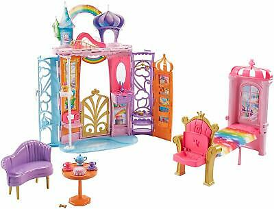 Barbie Dreamtopia Castle Playset Furnished Accessories Girls Christmas Gift