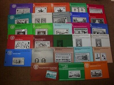 Excellent Collection Guernsey Presentation Packs (28) -rf649