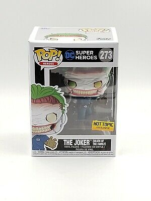 Funko Pop! DC The Joker Death of the Family #273 Hot Topic Exclusive