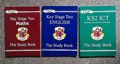 CGP Key Stage Two, The Study Book, Maths, English, And ICT