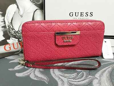 Guess Isabeau Large Grey Clutch Wallet BNWT
