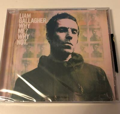 Liam Gallagher Why Me ? Why Not CD * New & Sealed *
