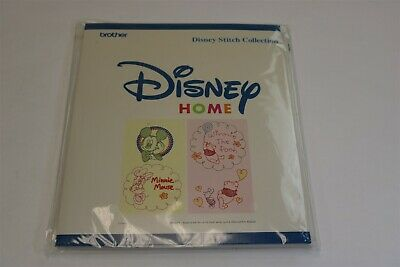 BROTHER - DISNEY HOME EMBROIDERY CARD Mickey Mouse Stitch Collection